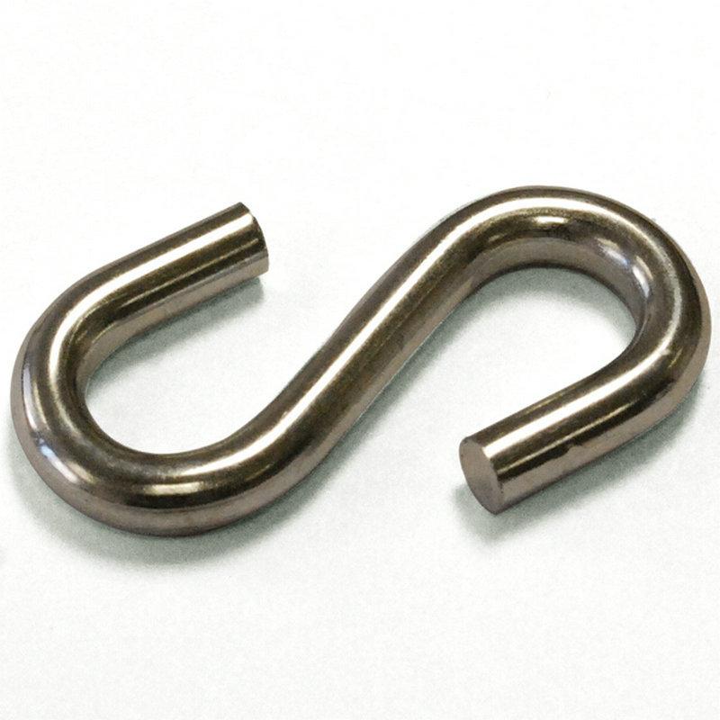 200 шт/15 кг/коробка 8X75 мм металлическая оцинкованная углеродистая сталь S крючки в форме S вешалка крюк для подвешивания