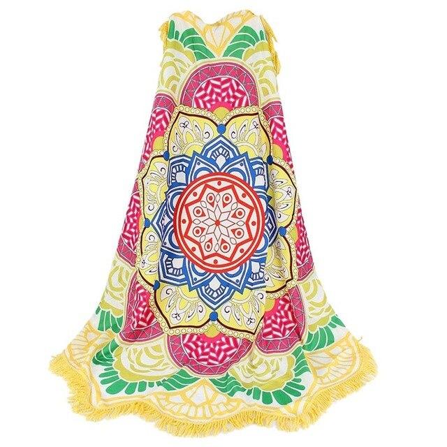 Hot Beach Towel Tassel Yoga Mat Carpet Tapete Doormat Tapestry Indian Mandala Blankets Bathroom Carpet Camping Mattress 7 Color 6