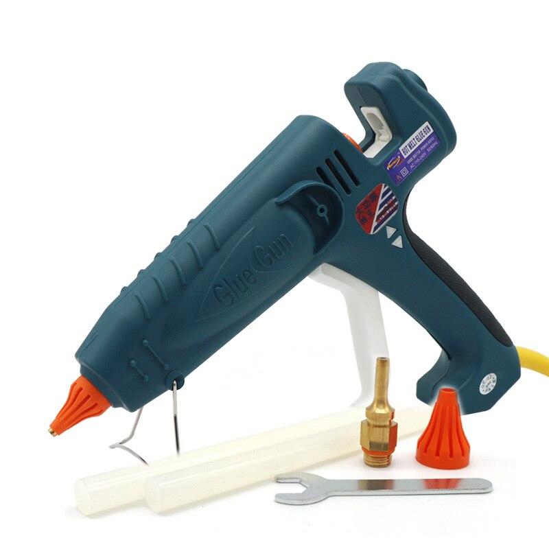 Pistolet à colle thermofusible haute puissance 500 W 100 V 240 V pistolet à colle industriel professionnel pour bâtons de colle 11mm avec buse en cuivre, 1 Pcs/Lot