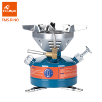 Fire Maple Stainless Rhinoceros Integrated Fuel Stove Big Burner Folding Lightweight Outdoor Camping Equipment Gear FMS
