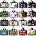 Portable 7 9.7 10 12 13 13.3 14.1 15 15.6 17 17.3 print Laptop bag pouch waterproof Tablet Sleeve Netbook Sleeve case LB-FA25