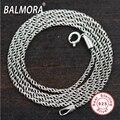100% real pure 925 sterling silver jóias gargantilhas colares para homens macho presente do partido frete grátis Tailandês de Prata correntes JLC007-1