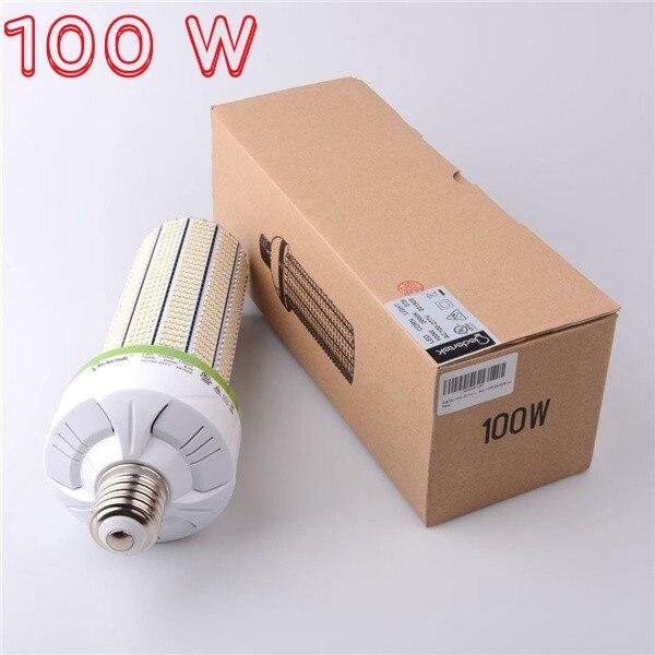 100 w E26 E27 E40 LED ampoule de maïs 400 W halogène 150 Watt CFL Base de vis de remplacement LED lumière de maïs commerciale E27 haute baie éclairage