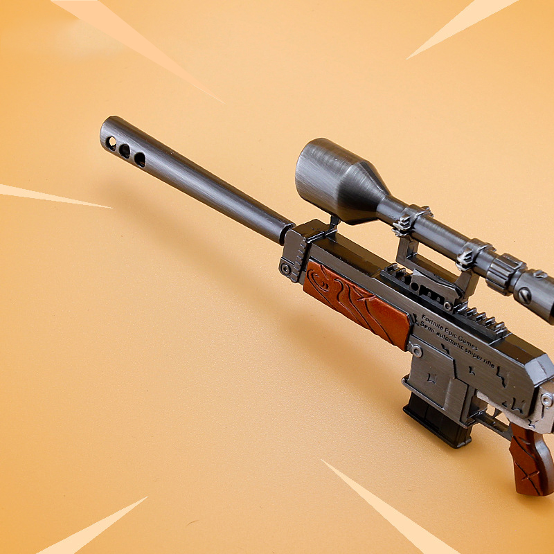 Fortnight Action Figure From Fortnight Sniper Rifle Weapon Gun Model