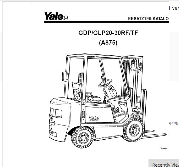 New Yale All Wiring Diagrams And Service Manuals Pdf 2018 Full Set