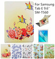 360 Degree Rotating Smart Case Ultra Slim With Hard Plastic Shell for Samsung Galaxy Tab E 9.6-Inch SM-T560+Screen Protector