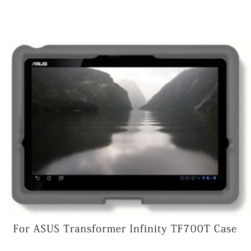 MingShore Rugged ShockProof Silicone Protective Cover Case For ASUS Transformer Infinity Tablet TF700T 10.1inch Tablet планшет asus transformer infinity tf701t в алматы