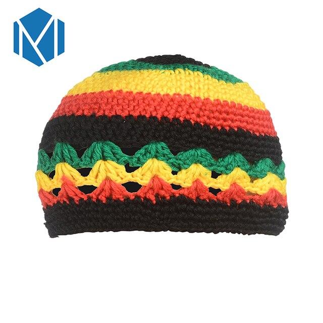 Miya Mona Rasta Reggae Jamaika Beanie Hut Gestrickte Slouchy Bob ...