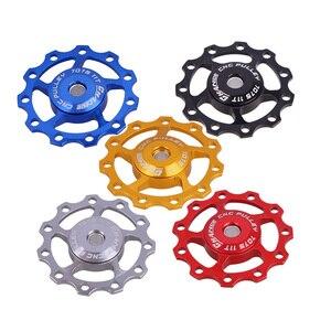 Высокое качество MTB велосипедный переключатель Aest задний переключатель шкив JOCKEY Wheel 11T 5 мм или 6 мм велосипедные аксессуары