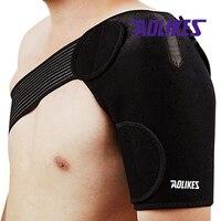 AOLIKES Высокой Упругой Плеча Протектор Brace Поддержки Съемный Корректор Осанки де postura ортопедии мужчины женщины