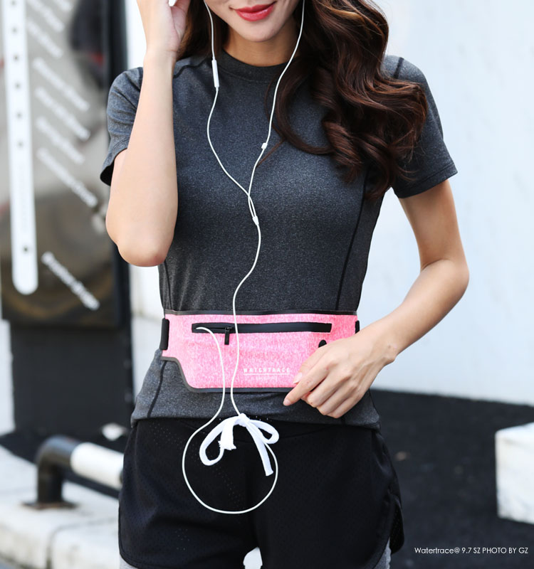 Running Waist Pouch Belt Sport Mobile Phone Holder Gym Bag Running Waist Pack