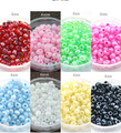 500 Unids/lote (aproximadamente 50 g/lote) 4mm Checa Glass Seed Beads Jewelry Making DIY 8 Colores F1917