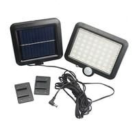 Waterproof IP65 PIR Motion Sensor 56 LED Solar Light Solar Powered 2835 SMD Outdoor Garden Light
