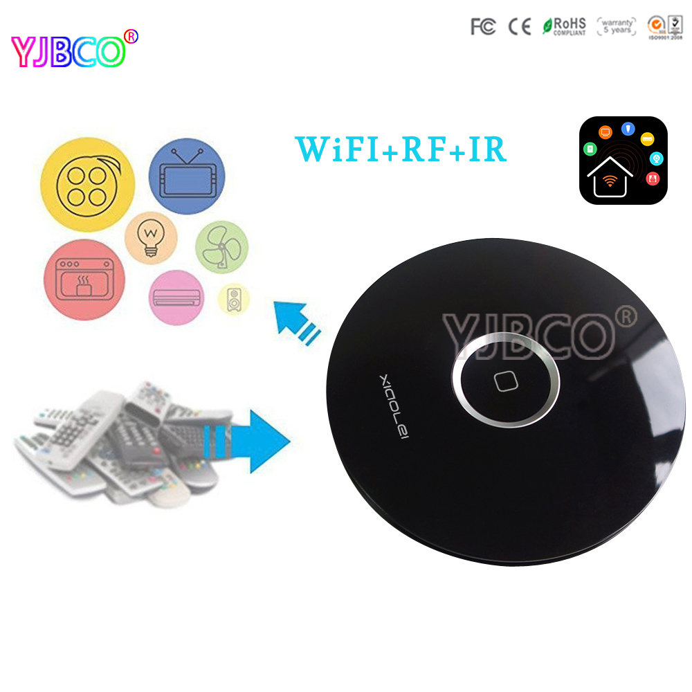 NEW Xiaolei Wifi remote Smart home Automation WIFI+IR+RF Universal Intelligent remote control  for iphone IOS Android LTECH детская игрушка new wifi ios