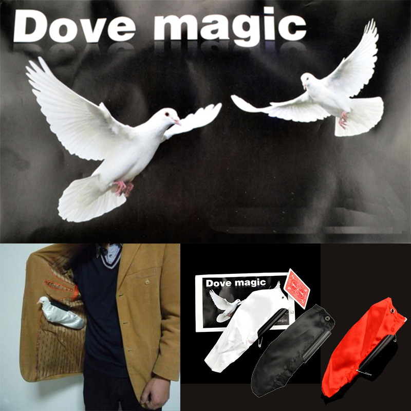 Appearing Dove Bag Professional Stage Magic Tricks Props Toys Magician