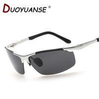 DUOYUANSE Alta-grau de aeronaves de alumínio e magnésio polarizar óculos de sol dos homens 8888 óculos de condução óculos de sol atacado e caixa