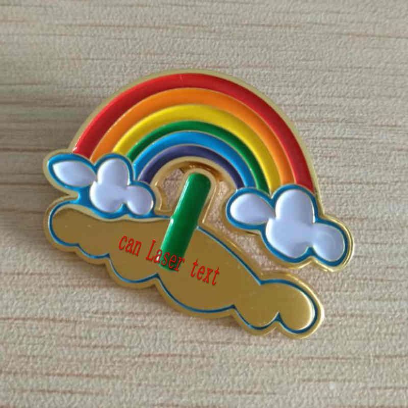 PrideOutlet > Lapel Pins > Rainbow Bow Tie LGBTQ Lapel Pin
