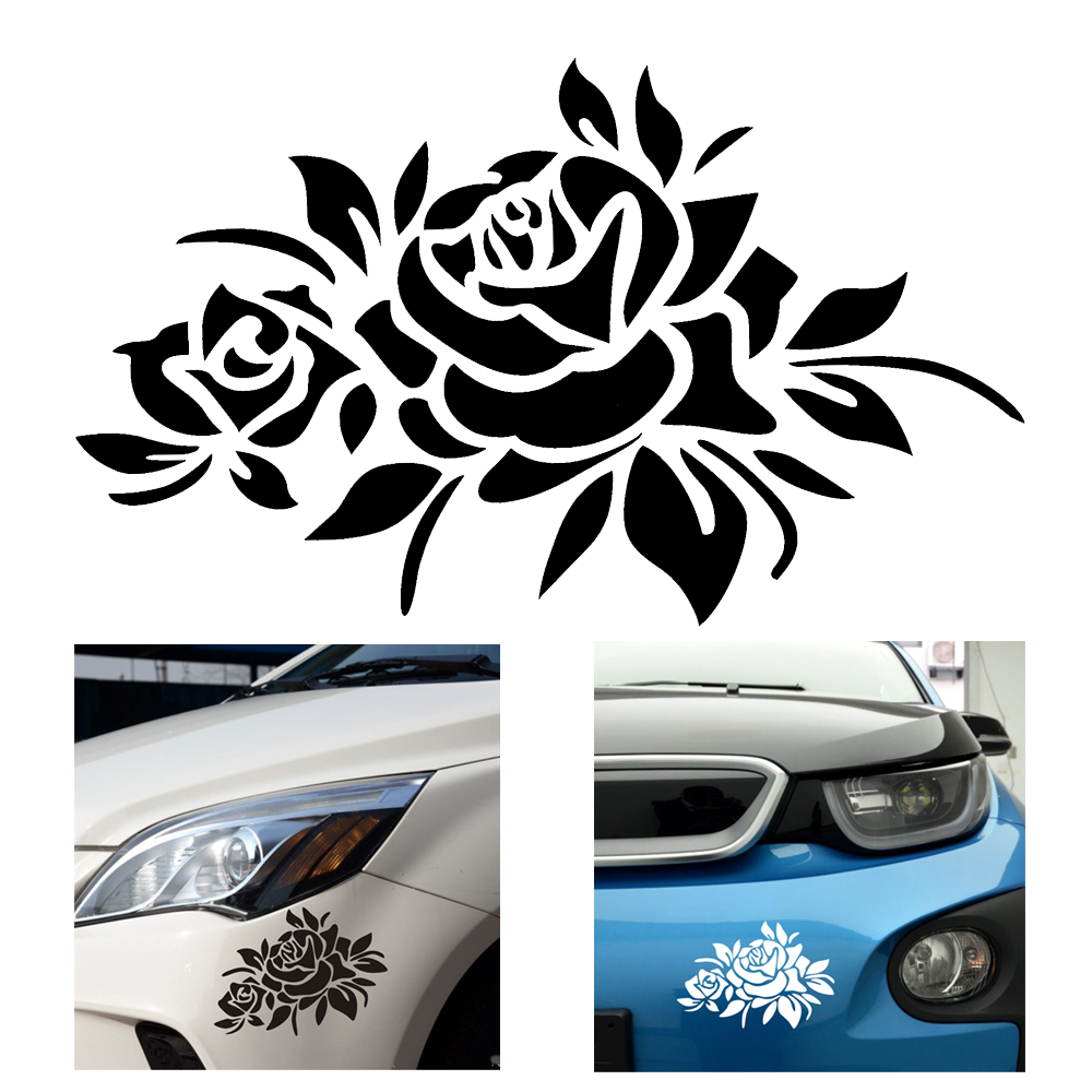 Buy car stickers decals 4 color car body Car exterior decoration accessories