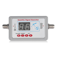 Digital Satellite Finder Meter Satlink WS6903 WS-6903 Displaying Audio Signal Receiver Direct LCD Buzzle for TV Dish Systems