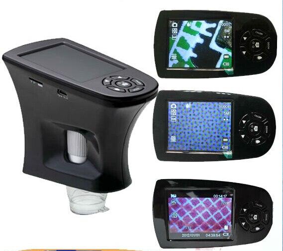 20x-500x Portable Digital Microscope LCD Screen Pocket USB Digital Microscope 8 LED Illuminated USB Camera and Video Microscope  цены
