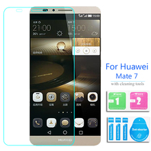 For Huawei Ascend Mate 7 Tempered Glass Screen Protector 2.5 9h Protective Film on Mate7 Matt MT7-CL00 MT7-TL00 MT7-TL10