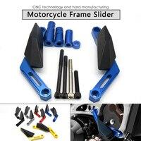 CNC Gold Billet Modified Frame Sliding Block Motorcycle Crash Protection Engine For YAMAHA MT 09 MT09