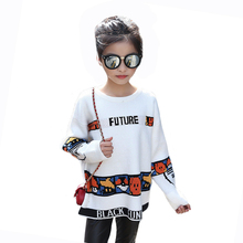 Tribros 2017 Spring Baby Girl Clothes Turtleneck Sweater Children ClothesKids Sweater Casual Girls Knitted Pullovers Sweater