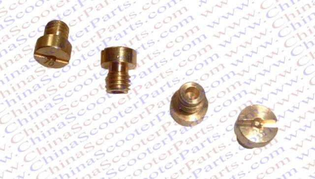 #130 #132 #135 #138 M5x0.8 Main JET For Mikuni KEIHIN Dellorto OKO KOSO  PWK GY6 Carburetor ATV Buggy Scooter  Dirt  Bike Parts