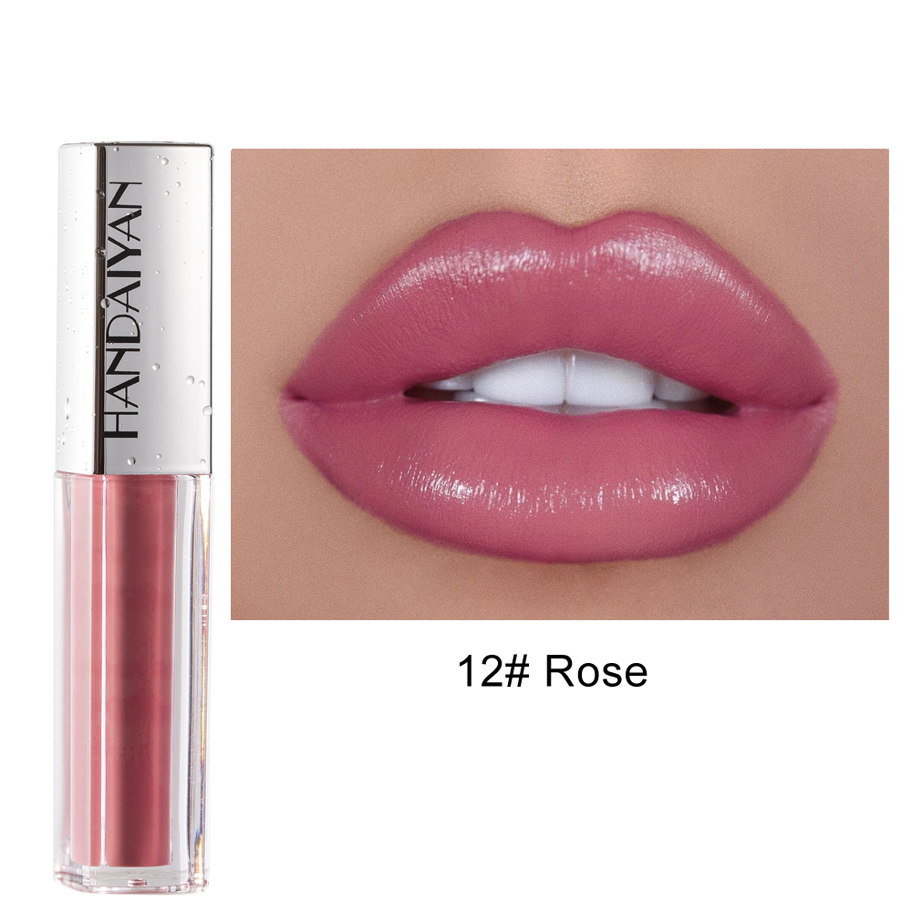 HANDAIYAN 12 Colors Matte Sexy Lip Gloss Velvet Matte Lasting Moisturizing Waterproof Cosmetic Beauty Keep 24h Lipgloss TSLM2| | - AliExpress