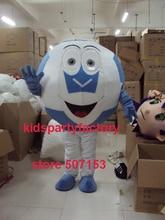 Sommer heißer verkauf!! Neue Erwachsene größe fußball zähne zahn maskottchen kostüm mit anzüge schuhe hände phantasie party kleid Halloween kostüm