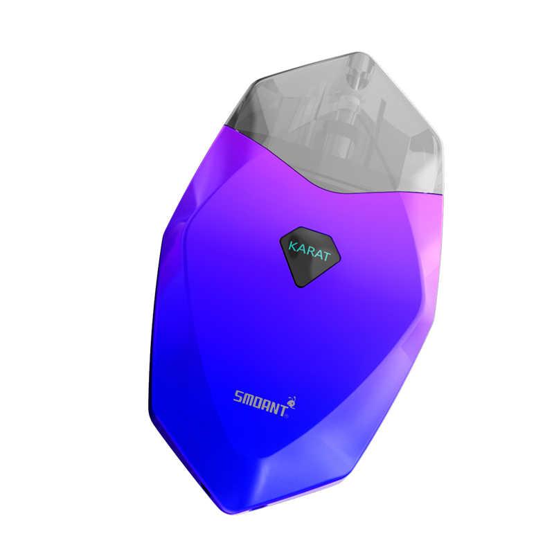 Новейшая модель; Smoant карат 370 мАч комплект Pod стартовый набор для вейпинга с 2 мл кварцевый катушки комплект картриджей vs S8 minifit suorin падение pod наборы
