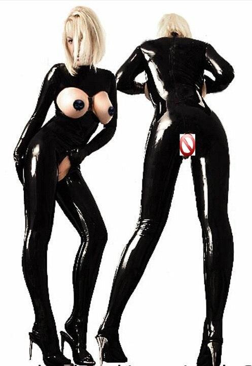 Eksootiline lateksist kostüüm