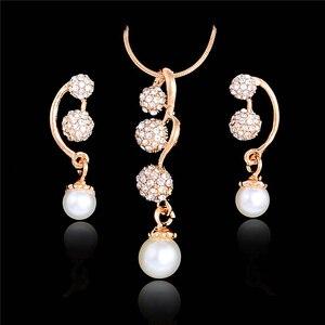 SHUANGR Wedding Jewelry Sets F