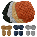car seat cover Autumn and winter car seat cushion small three pieces cushion general soft warm car seat