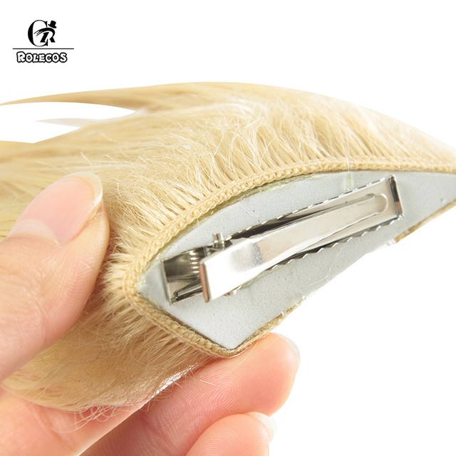 ROLECOS KDA Ahri Cosplay Hair LoL KDA Cosplay Headwear LOL KDA 90CM Yellow Long Women Hair Heat Resistant Synthetic Hair Perucas 5