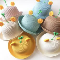 Милые ростки фасоли Мультяшные шляпы Детский сад Дети Школа шапка для мальчиков и девочек шляпа милые ростки деревца Чистый хлопок Кепка