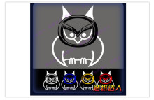 Reflective Car Accessories Cartoon Owl Car Sticker and Decal Tail Sticker for 2 Mazda 3 6 Cx 5 Cx7 Mx 2014 2015 2016(China)