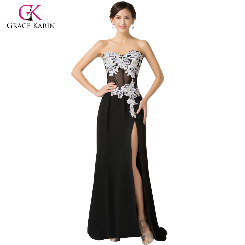 Popular Black Gowns Dresses-Buy Cheap Black Gowns Dresses lots ...