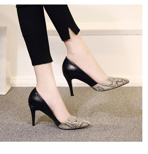 comfortable high heels pointed toe high quality snake grain elegance shoes - free shipping! Comfortable High Heels Pointed Toe High Quality Snake Grain Elegance Shoes – Free Shipping! HTB1ymDMNXXXXXa3XVXXq6xXFXXXF