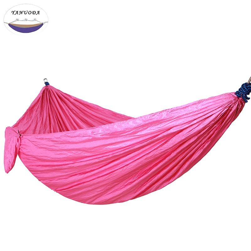все цены на Hammock With Hammock Tree Rope Portable Lightweight Nylon Fabric for Backyard Indoor Outdoor Hiking Beach Travel