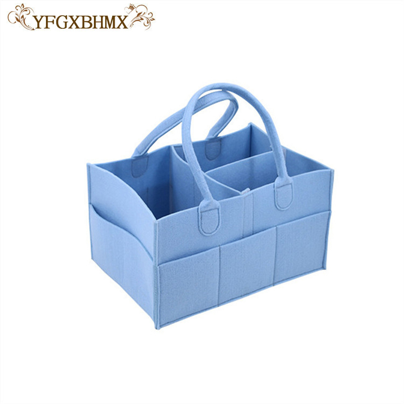 YFGXBHMX Foldable Baby Diaper Caddy Organiser Gift Kid Toys Portable Storage Bag/box for ...