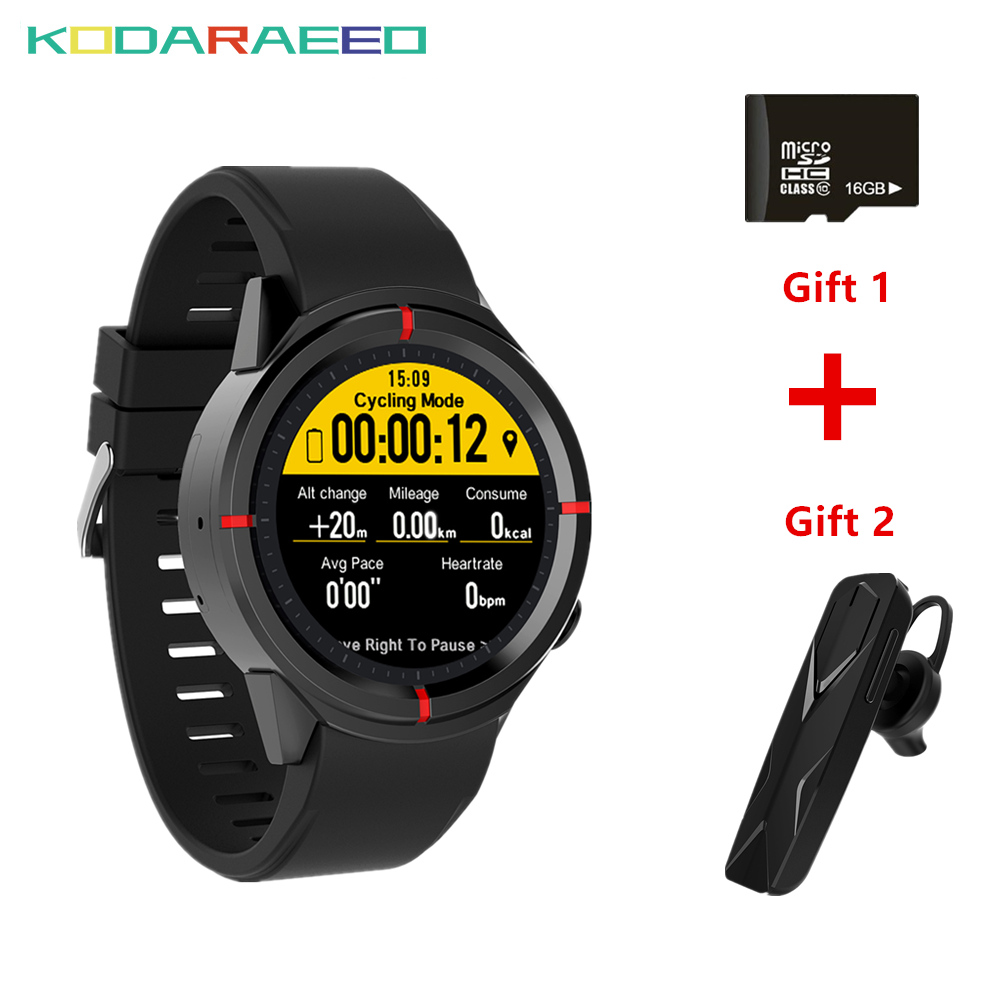 цена GW12 Smart Watch Men Women Heart Rate Monitor Smart-watch Smartwatch GPS SIM Camera for Android IOS Phone+Free Headset+TF Card онлайн в 2017 году