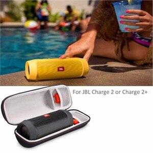 Image 3 - נסיעות מגן פאוץ תיבת מקרה עבור JBL תשלום 2 & תשלום 2 + בתוספת Bluetooth רמקול קשה EVA עמיד הלם נשיאה אחסון כיסוי