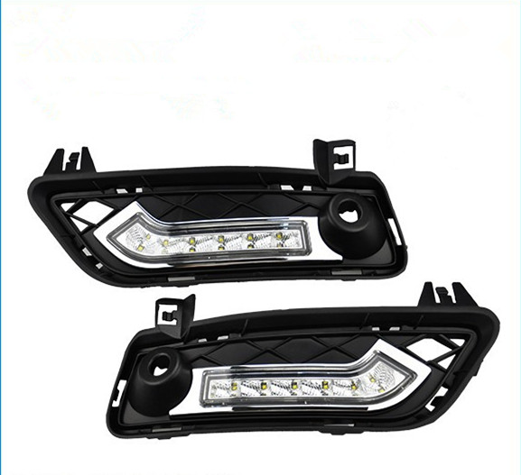 CYAN SOIL BAY Lower Bumper Insert Area LED Daytime Running Lights DRL Kit For 2010-2014 BMW F25 X3 2011 2012 2013 brand new set led drl daytime running daylights for bmw f25 x3 2010 2014 front driving bumper fog lights dimmable drl lamp