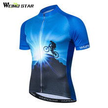Weimostar Mountain Bike Cycling Jersey Shirt Summer Breathable Cycling Clothing Pro Team MTB Bicycle Jersey Top Maillot Ciclismo недорого