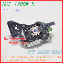 3 unids/lote coche DL 30 DVD cabeza óptica HOP 1200W B/1200W B para lentes láser de DVD (1200W/HOP 1200WB/1200WB)
