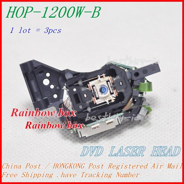 3pcs/lot CAR DL-30 DVD Optical Head - HOP-1200W-B / 1200W-B For DVD Laser Lens ( 1200W / HOP-1200WB / 1200WB )