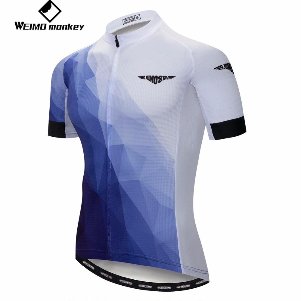2019 Mens Bike Cycling Jersey Short Sleeve Tops Bicycle Shirt Maillots Pockets