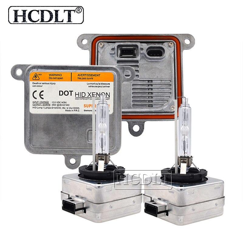 HCDLT 12V 35W 55W 5000K D1S Xenon HID Headlight Kit D3S 6000K 4300K 8000K HID Xenon