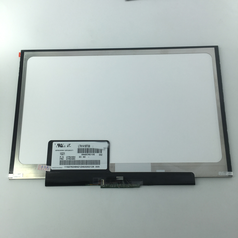 14.1 LED LCD Screen LTN141BT08 LT141DEQ8B00 WXGA+ Laptop Display screen Matrix for Lenovo IBM ThinkPad T400S T410s T410si
